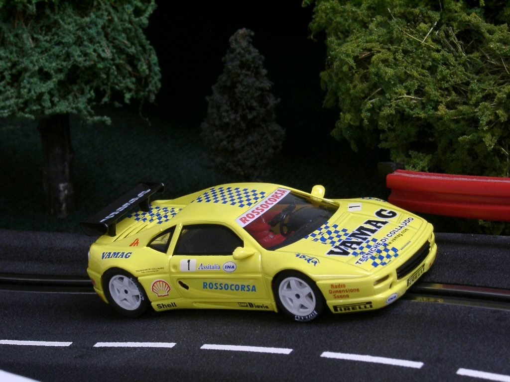 Pro Slot Ps1010 1997 Challenge Cup F355 Yellow Vamag Livery